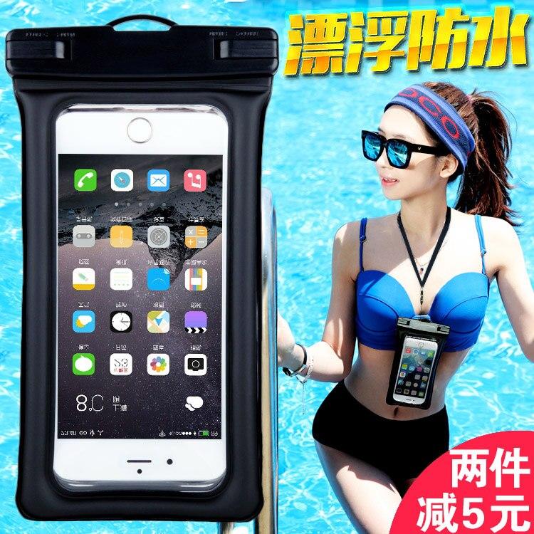 6.0 Waterproof Case Pouch Bubble Float Bag Water Proof Phone Case on For Xiaomi 6 /6 Plus/2A/3/4/4C/4S/5/5S /5C /5S Plus/note 2