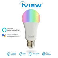 3pcs white ABS ISB600 Smart WiFi LED Bulb Multi Color Dimmable Free APP Remote Control Drop Shopping