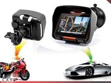 Motorcycle Bike 4.3 Inch Motorcycle GPS Navigation System- Waterproof, 4GB, Bluetooth