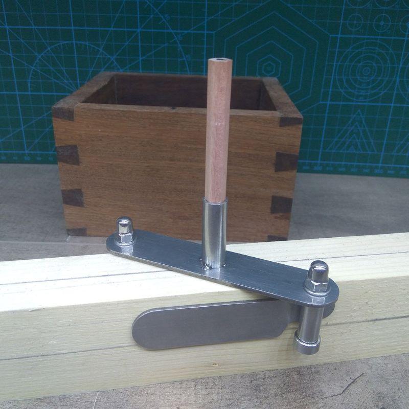 Center Finder Layout Woodworking Marking Gauge
