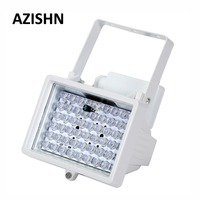 AZISHN CCTV 54 LED 12V 12V 8W noche visión iluminador infrarrojo IR lámpara iluminación auxiliar de circuito cerrado de televisión al aire libre Luz de relleno para cámara cctv