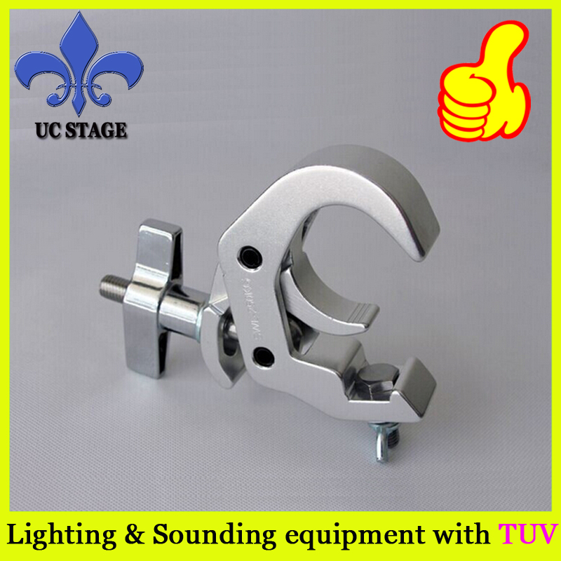 10pcs/lot 250KG loading weight aluminum stage light hook clamp for beam moving head light