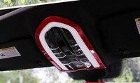 Estilo de coche frente Interior luz de lectura de adornos decoración Interior lámpara de techo marcos para Porsche macan Cayenne Panamera