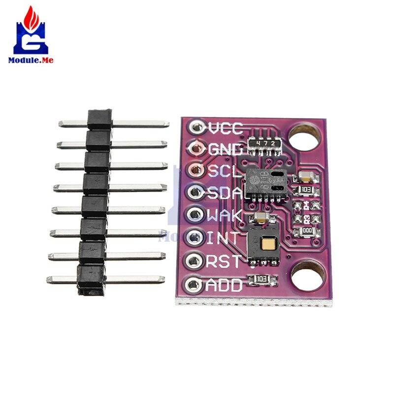 CCS811 HDC1080 De Monoxyde De Carbone CO Cov Température Et Humidité Capteur De Gaz Capteurs Combinés Carte de Dérivation Module