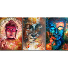 Full square diamond 5D DIY diamond embroidery colorful Buddha diamond painting Cross Stitch Rhinestone mosaic home decoration CX diamond painting full square rhinestone diamond embroidery cross stitch buddha 5d diy mosaic gift home decoration