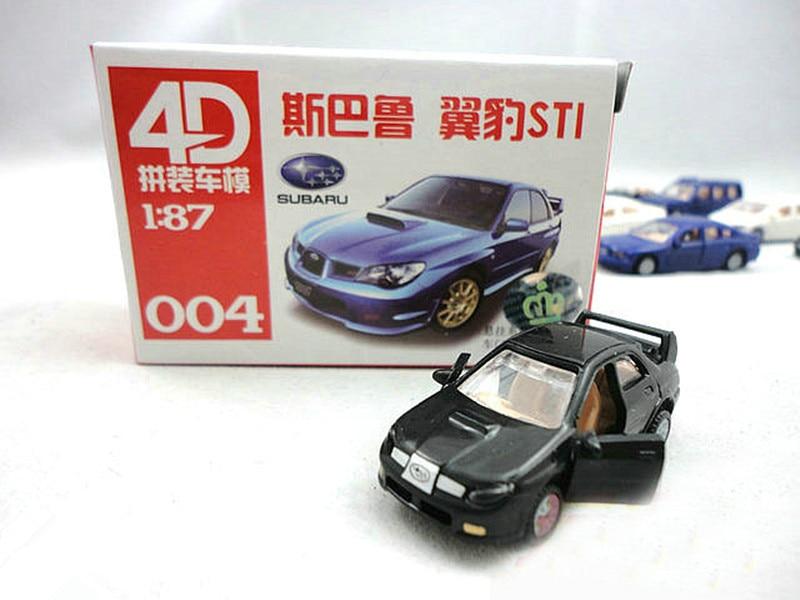 Aliexpress.com : Buy C8704 4D Model Kit Cars 1:87 HO Scale Railway ...
