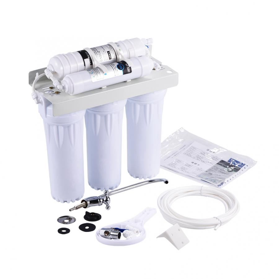Water Purifier 6 Stage Water Purifier Filter Reverse Osmosis Drinking Water Filtration System Fountain Home