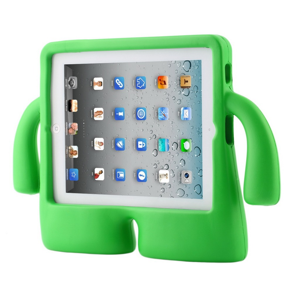 Shockproof Kids Child Handle Foam Case Cover Stand For Apple for iPad 2 3 4 eva Free shipping kids handle stand eva shockproof new tablet cover case for 9 7 inch ipad 2 3 4 air3 ipad pro 9 7 tablet best for kids gift