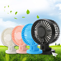 Mini Double Fan Blade USB Fan Charging Quiet Work Home Office Outdoors