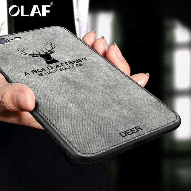 Чехол для телефона для iphone 7 iphone 8 плюс чехол силиконовый край противоударный Ткань задняя крышка для iphone 6 6s plus для iphone X