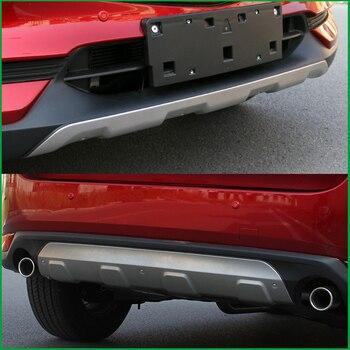 لمازدا CX-5 CX5 2017 2018 الجبهة الخلفية مصد للجسم للانزلاق حماية درابزين الحرس الوفير غطاء تقليم سيارة التصميم السيارات أجزاء