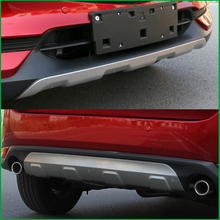 цена на For Mazda CX-5 CX5 2017 2018 Front Rear Body Bumper Skid protection Fender Guard Bumper Cover Trim Car-styling Auto Parts