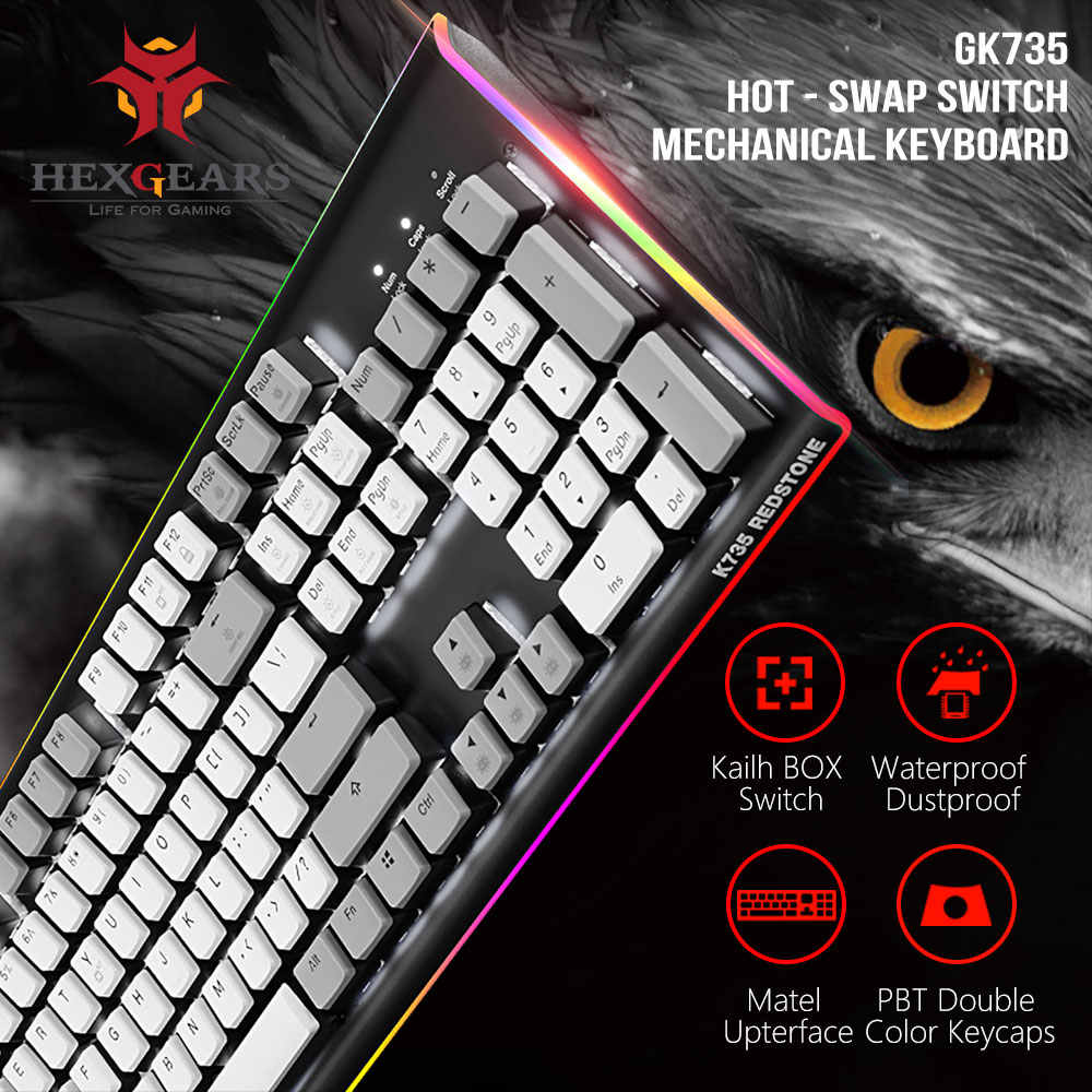 Detail Feedback Questions about HEXGEARS Gaming Keyboard Backlight