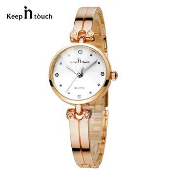 686643b03e5d Exquisita señoras cuarzo reloj estudiante tendencia de la moda relojes mujer  Montre femme Damenuhr relogio masculino reloj Mujer