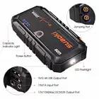 Suaoki U28 2000A Spitzen Jump Starter Pack Portable Power Bank LED Taschenlampe Smart Batterie Klemmen für 12V Auto Boot UNS EU AU Stecker - 3