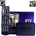 GOTiT Mag250 with Super Italy IPTV Box 1400+ AlbanianTurkey Portugal IPTV XXX Adult Hot club channels included Smart Set Top Box