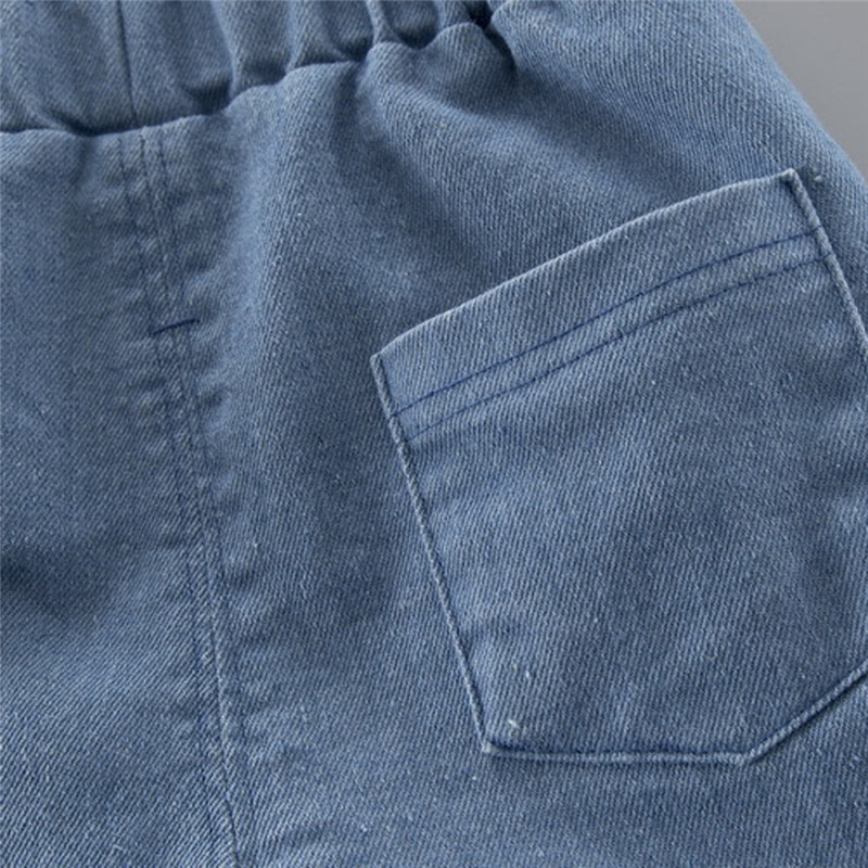 Boys clothes Child Kids Winter Boys Cartoon Shark Long Sleeve Tops Denim Pants Outfits Set #4j22 (18)