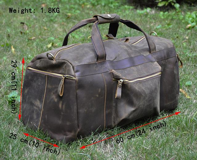 De alta Qualidade! Mens Genuíno couro do couro Real Duffle sacos de Viagem Bagagem Mala saco do Mensageiro Bolsas Bolsas de Ombro 3273