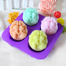 Creative Craft Gift Soap Making for Wedding Decoration  Bell angel Silicone Mould south Korea small DIY handmade soap mold