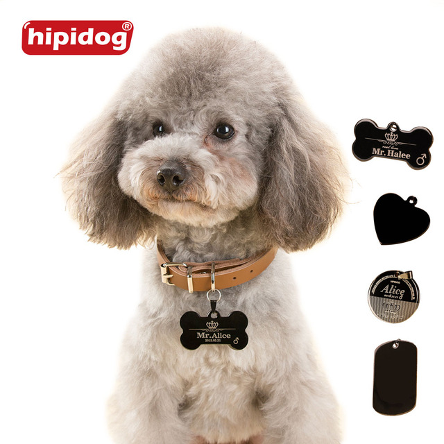 hipidog free personalized engraving text dog tag engraved dog cat