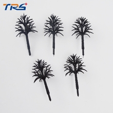 Teraysun architectural model making tree 4-10cm plastic arm miniature for sand table layout