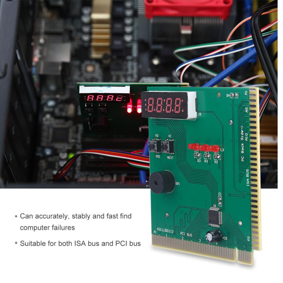 4 Digit Card PC Analyzer Computer Diagnostic Motherboard