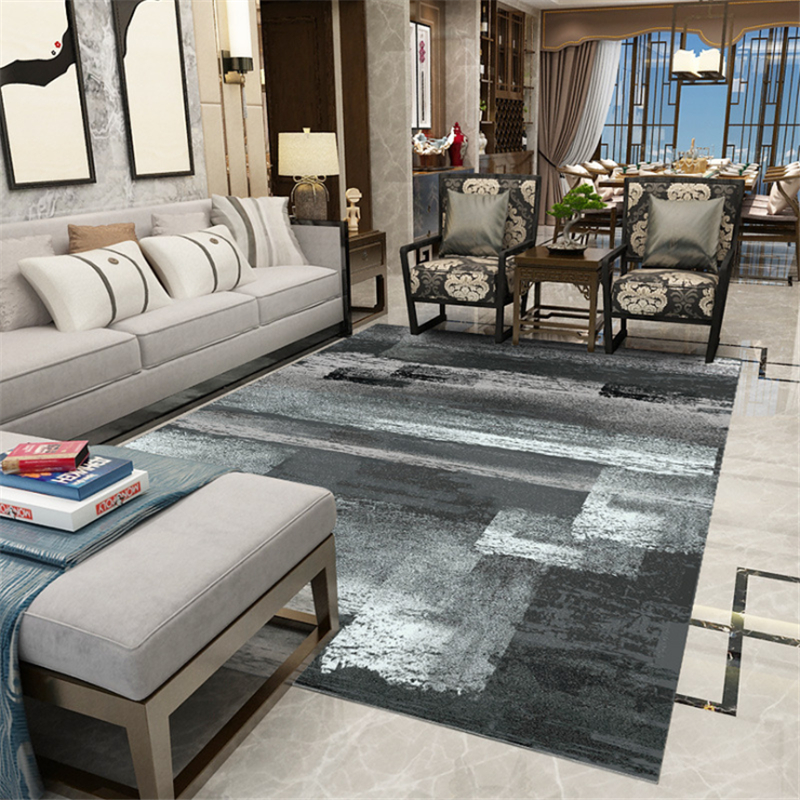 Encre chinoise rectangulaire canapé Table basse tapis tapis pour salon zone tapis pour chambre licorne décoration chambre