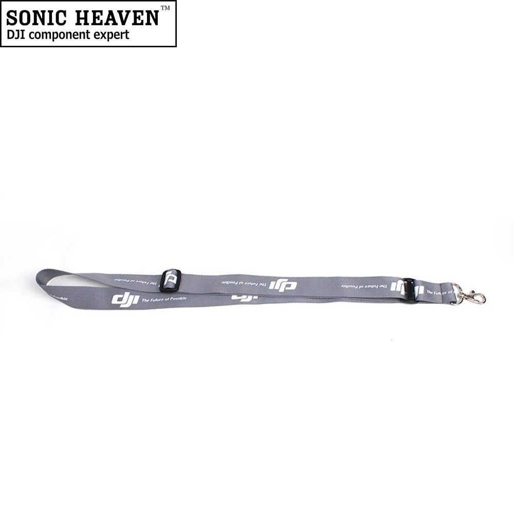 ドローンネックストラップホルダー dji Mavic 2 プロ/空気ユニバーサルグレー & ホワイトドローンリモコントランスストラップ
