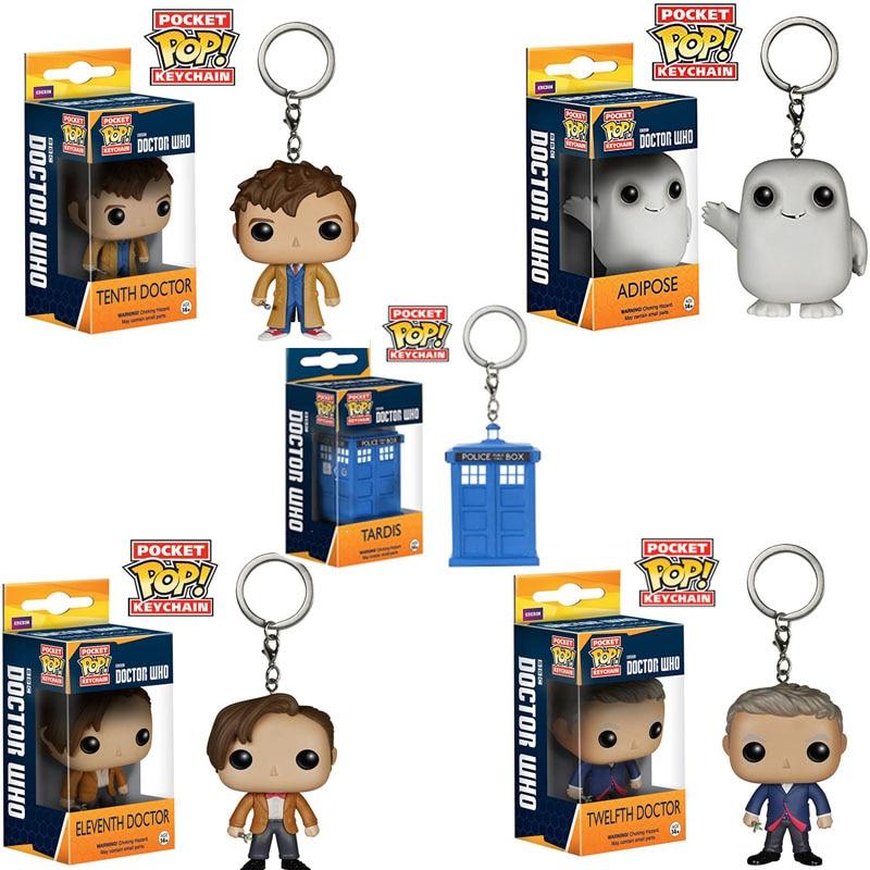 Pop TARDIS Pocket Pop Keychain Vinyl--Doctor Who