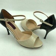 6bd19af41 Confortável e Fashional Argentina Tango Sapatos de Dança Sapatos de Festa  Sapatos de Casamento de couro argentina outsoleT6205B-.