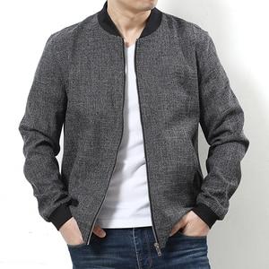 Image 2 - Plus size 10XL 9xl 8xl 6xl New 2017 Jacket Men Fashion Casual Loose Mens Jacket Sportswear Bomber Jacket Mens jackets and Coats