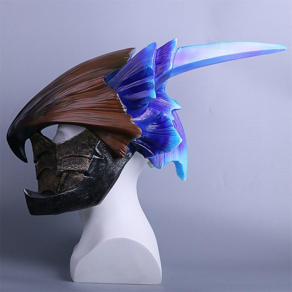 MONSTER HUNTERWORLD Helmet Cosplay legiana helm  Helmets Halloween Masks Props (4)