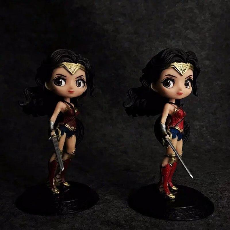 Фильмы DC Wonder Woman фигурку модель в наличии Рождественский подарок