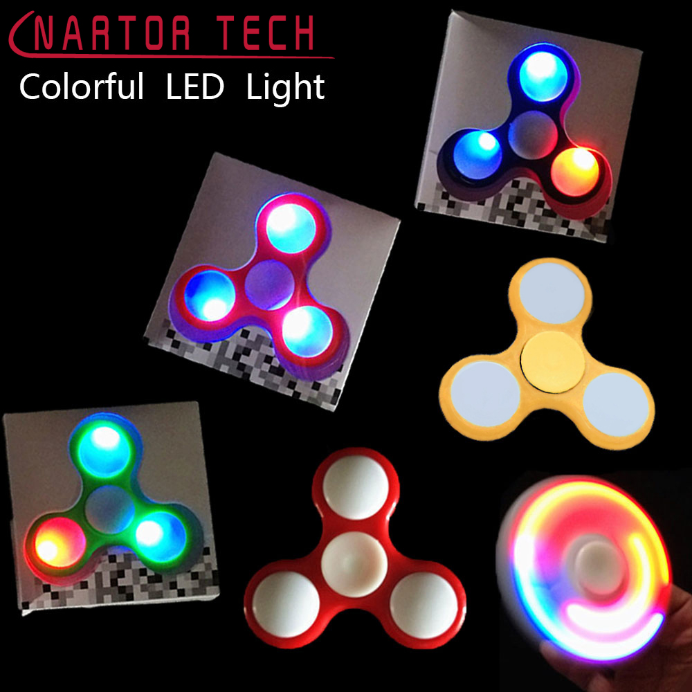 Nartor Toys LED Light Figet Spinner Powes