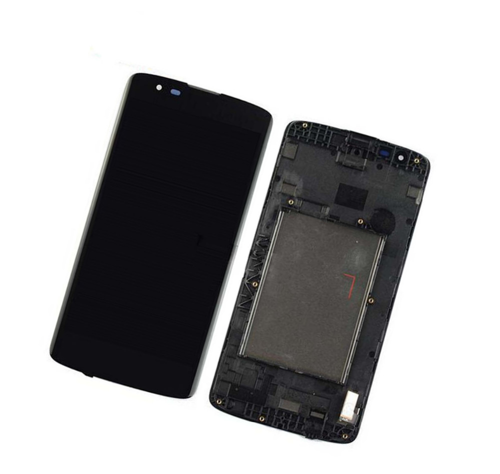 For LG K8 LTE K350N K350E K350DS LCD Display touch screen digitizer Assembly with free tools
