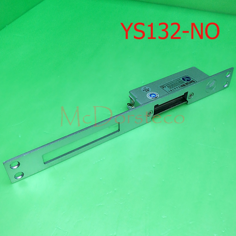 yli Best Quality Long-type Electric Strike Lock Fail Secure Electric Door Lock Access Control Lock YS132NO yli best quality standard type electric strike lock fail safe electric door lock access control lock ys130nc nc lock