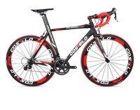 COSTELO выполните велосипеды углеродного волокна Велоспорт полный велосипед с различными список групп рама колеса руль стволовых седло EMS Бес