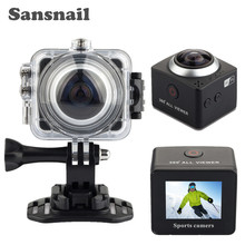 360การกระทำกล้องขนาดเล็กWifiกล้องพาโนรามา4080*2304อัลตร้าHDพาโนรามากล้อง360องศากันน้ำกีฬาการขับรถVRกล้อง