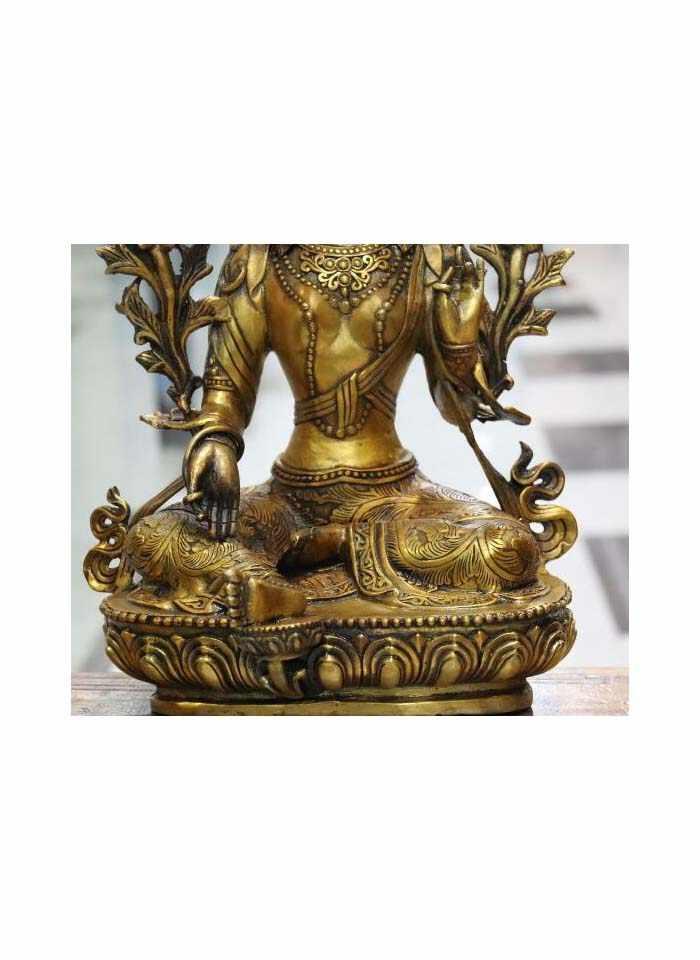 Буддизм медный Бронзовый Кван-Инь Гуаньинь Зеленая Тара Будда Бодхисаттва