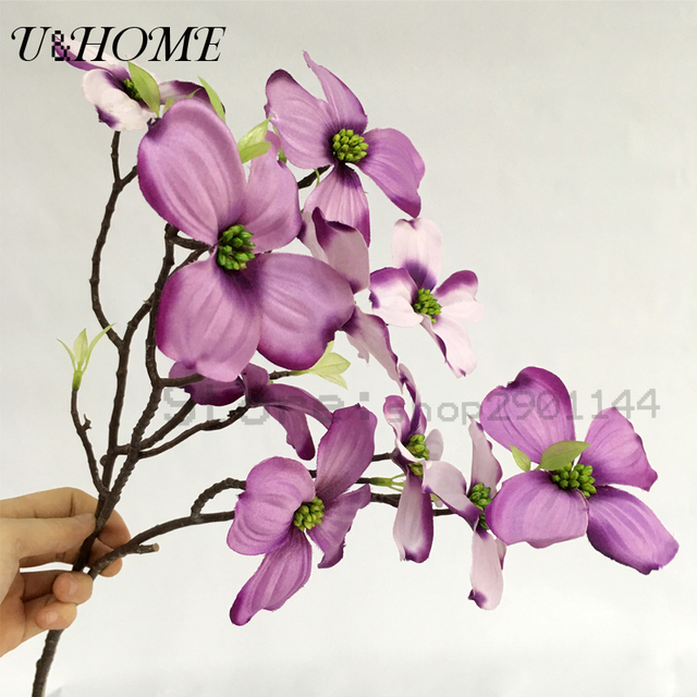 Four petals silk artificial flowers high quality for wedding party four petals silk artificial flowers high quality for wedding party decoration home table arrangements diy flores mightylinksfo