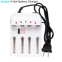 цена на Universal Charger 4 Slot Battery Charger For 18650 26650 16340 14500 Li-ion AA AAA Ni MH / Ni - CD / Ni Zn Batteries
