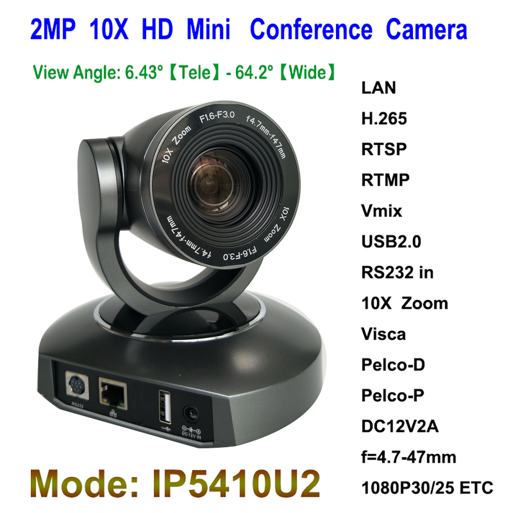 Professional 2MP PTZ 10x Optical Zoom ip usb Web Control video conference pan tilt mini camera dannovo 1080p 720p usb ptz video conference room camera 10x optical zoom 360 rotation support skype msn lync