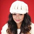 Mujeres del invierno sombrero de piel de visón de moda vivi recomendar sombrero
