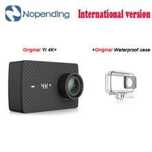 Новый оригинальный Yi 4 К + Действие Спорт Камера 4 К + xiaoyi 2.19 'Ambarella H2 для Sony IMX377 12MP 155 градусов 4 К Ultra HD спортивные Камера