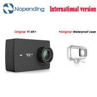 New Original YI 4K+ Action Sport Camera 4K + Xiaoyi 2.19' Ambarella H2 for SONY IMX377 12MP 155 Degree 4K Ultra HD Sports Camera