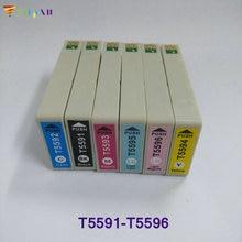 For Epson T5591 T5592 T5593 T5594 T5595 T5596 Ink Cartridge for Epson T5591 - T5596 for Epson Stylus RX700 printer цена в Москве и Питере
