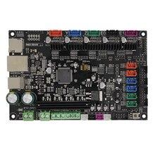 3 Dprinter Smoothieware плате контроллера МКС БАЗЫ 32bit V1.3 с открытым исходным кодом Smoothieboard Руку поддержки Ethernet предустановленной радиатора