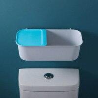 Wc Regale Freies Stanzen Super Last-lager Sauger Aufbewahrungsbox Trockenen und Nassen Trennung Badezimmer Storage Organisation