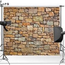 Parede de pedra do Tijolo Vinil Cenários de Fotografia Pano de Fundo para estúdio de fotografia Frete grátis F1586