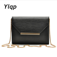 2014 New Collection Ladies Fashion Classic Black Envelope Bag Chain Small Handbag Female Shoulder Evening Bag